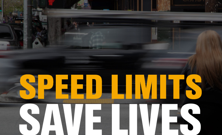Speed limits save lives